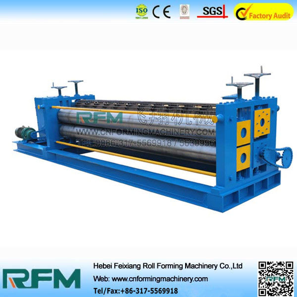 Corrugated Roofing Color Steel Roll Forming Machine 4kw Motor Power